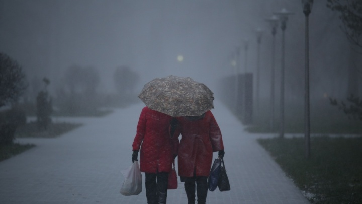 Погода на 5 ноября в Башкирии: снег с дождём и гололёд