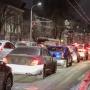 С первым снегом: из-за непогоды Ростов застыл в 10-балльных пробках
