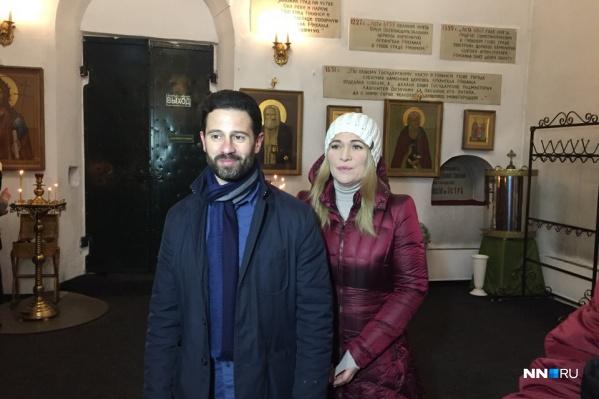 Виктория и Антон приехали посмотреть нижегородские святыни