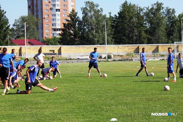 Игроки «Иртыша» готовились к выходу в ФНЛ с самого начала сезона