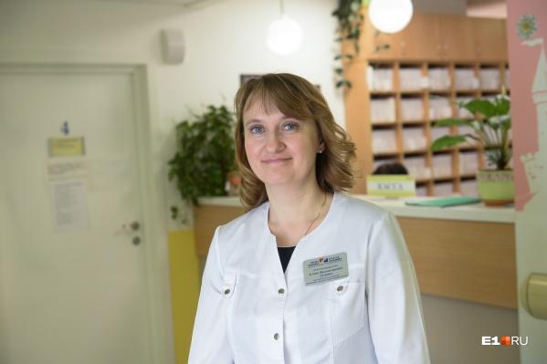 Иммунолог Елена Душина