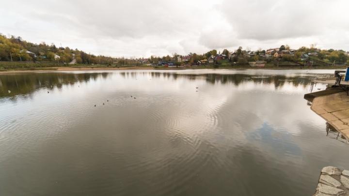 Чиновники повторно проверят качество очистки Мотовилихинского пруда