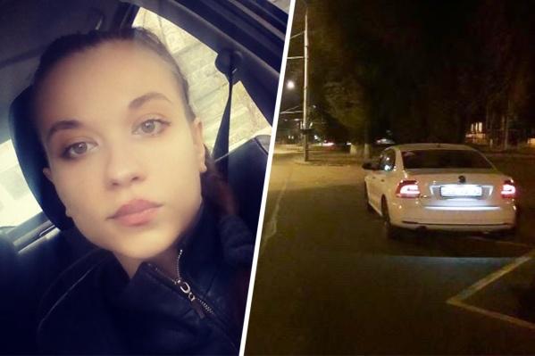 Девушка-таксистка ищет свидетелей происшествия