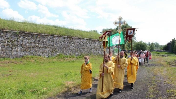 В честь покровителей Новодвинской крепости: 12 июля из Маймаксы на Бревенник отправится крестный ход