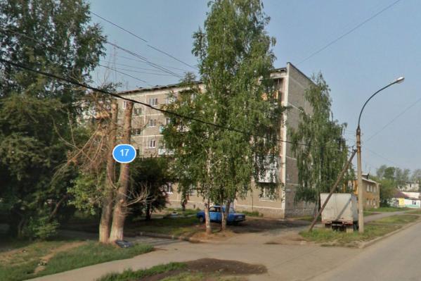Дом на Молотобойцев, 17 пятиэтажный