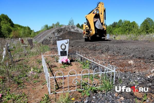 Новое кладбище сделают неподалеку от Северного
