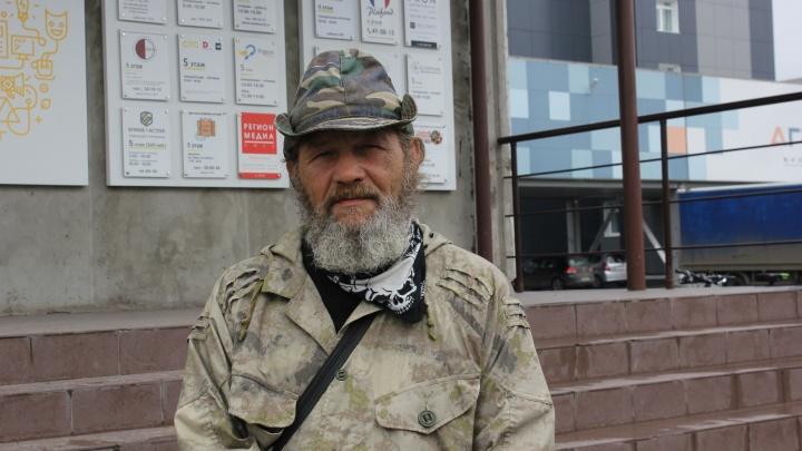 «Меня кушать нельзя»: путешественник рассказал, как год шел до Омска и пережил самую опасную встречу