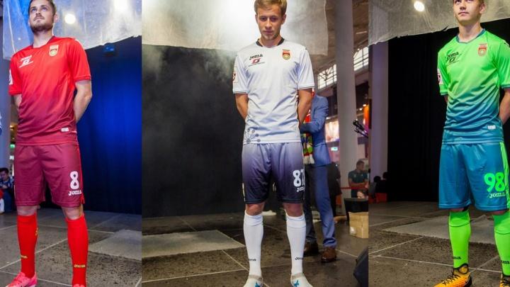У футбольного клуба «Уфа» - новая форма