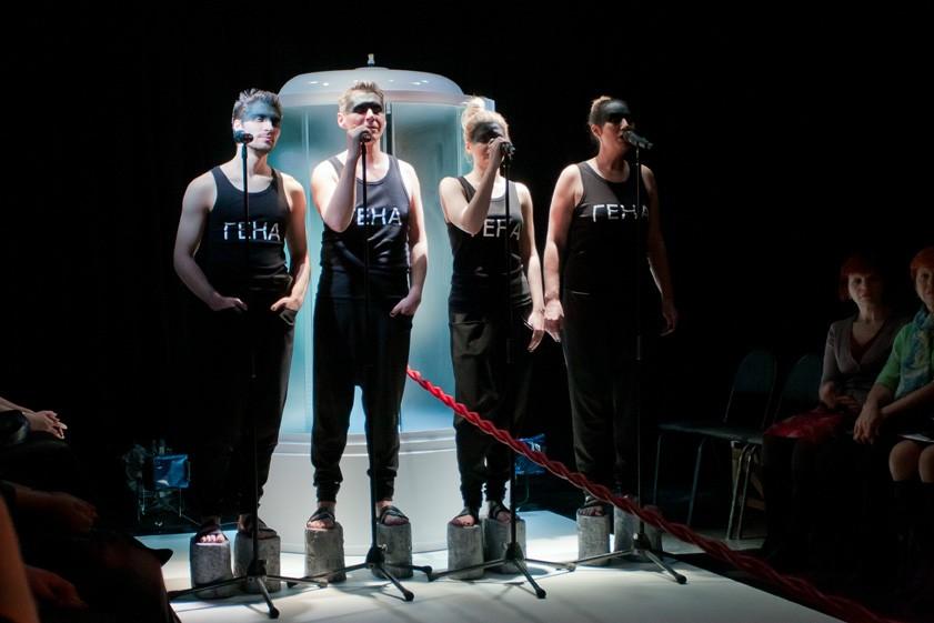 Спектакль слаконичным названием Новокузнецкого драмтеатра претендует на«Золотую Маску»