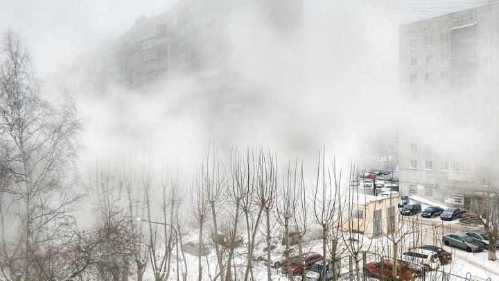 Второй прорыв в центре Тюмени: у «муравейника» без тепла остались шесть многоэтажек