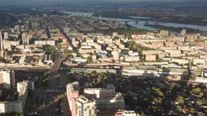 Красноярск может быть прекрасен: красноярец снимает шикарные видео города с высоты