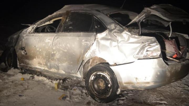 В Башкирии подросток без прав взял машину отчима, попал в ДТП и отправил в больницу двух пассажиров