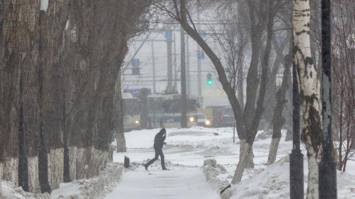 Опять метель! В Самарской области ожидают легкий морозец и снег