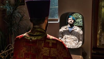 «Сейчас я воюю за души людей»: история того самого священника-десантника из Самары