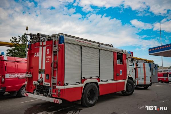 Причиной одного из пожаров стало неосторожное обращение с огнем