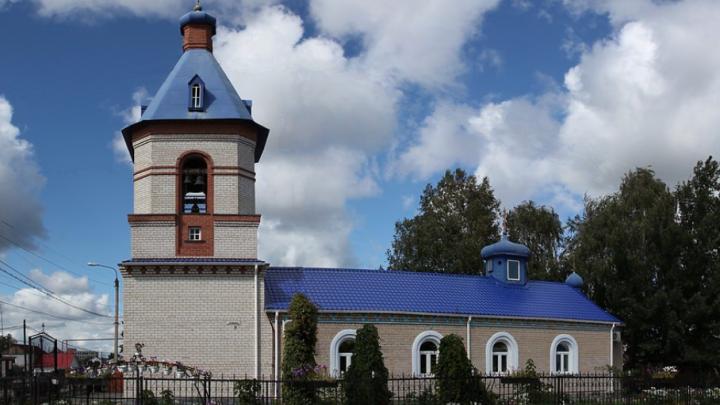 Работают следователи: в Челябинской области ночью загорелся храм