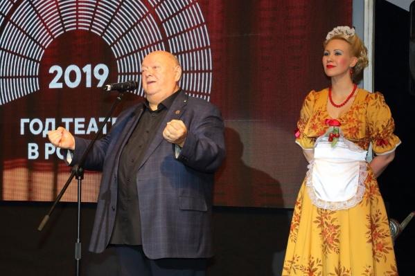 Михаил Сафронов руководил Театром музкомедии с 1999 года