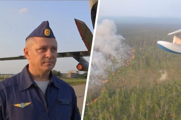 Площадь пожаров в Сибири приближается к трем миллионам гектаров