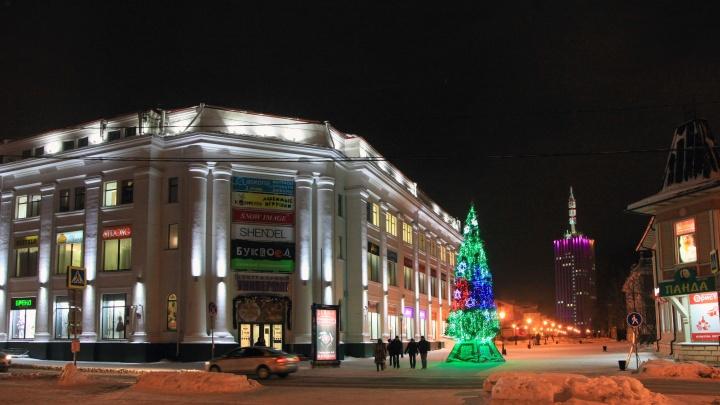 Как выглядит новогодняя столица Поморья