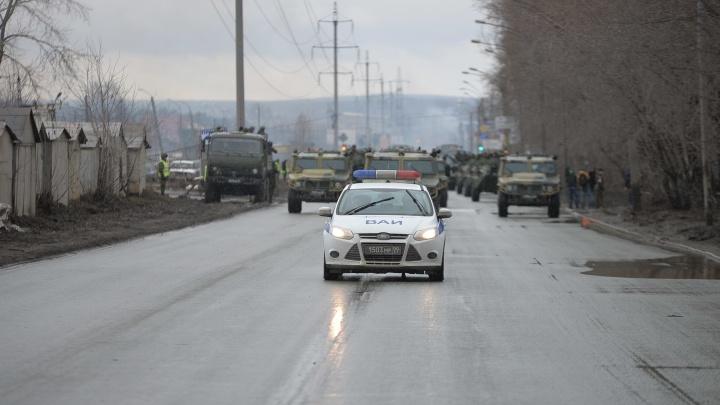 Утром в среду военные заблокируют движение на Вторчермете