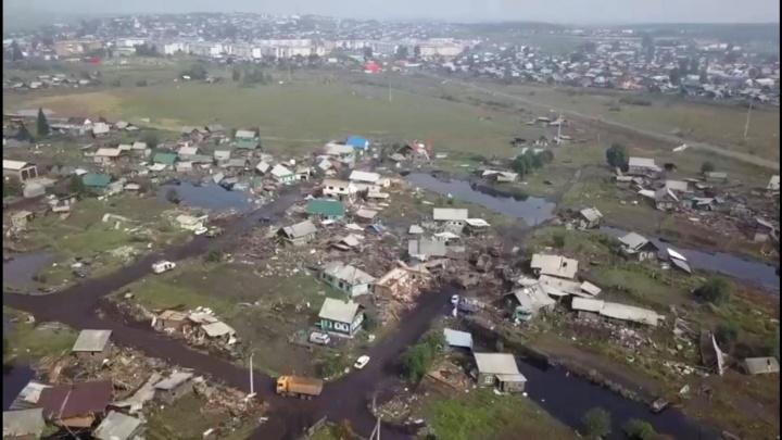 Вживую страшнее, чем по ТВ: новосибирский байкер показал последствия наводнения в Иркутской области