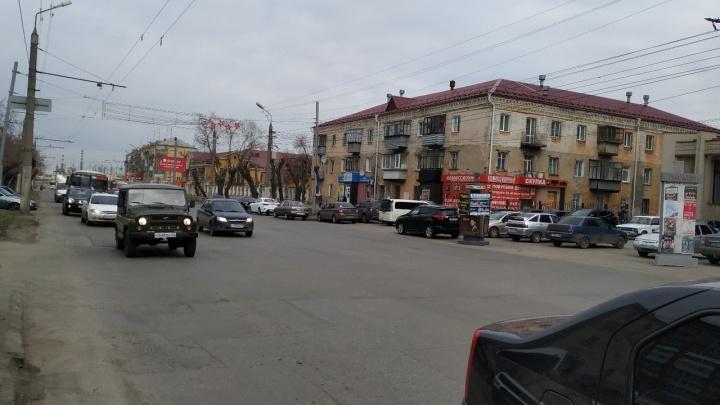 Улицу Пролетарскую в центре Кургана ждет большой ремонт. Особый асфальт и новые тротуары