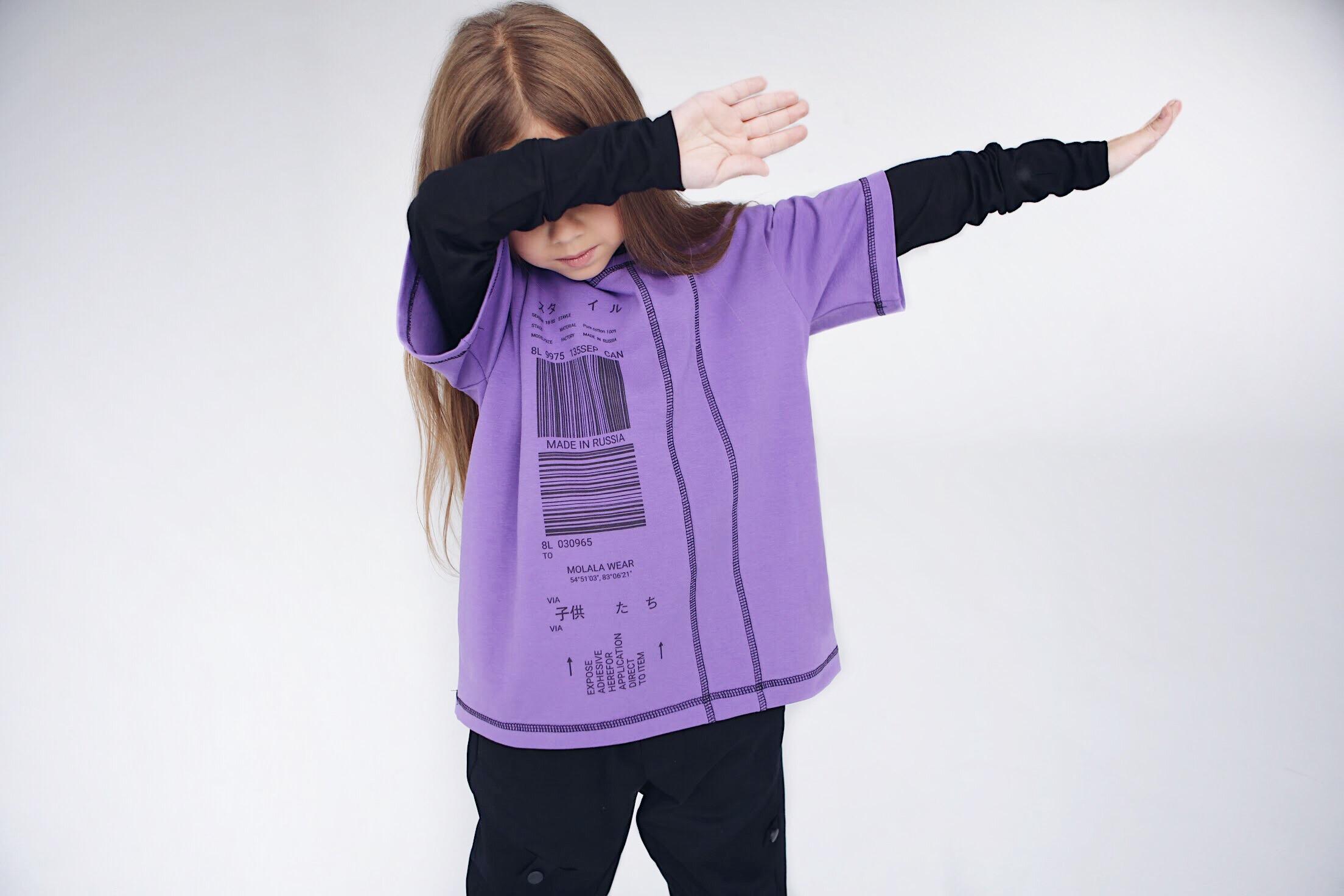 Лера любит чёрный цвет, но добавляет те, которые в тренде: сейчас это фиолетовый, по её мнению. Часто клиенты просят одежду для взрослых, которую они постепенно вводят