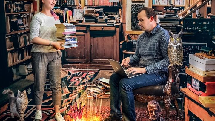 Можно ли выучить английский по книгам? Сибирячка с огромной татуировкой Биг-Бена на ноге рассказала о любимом хобби