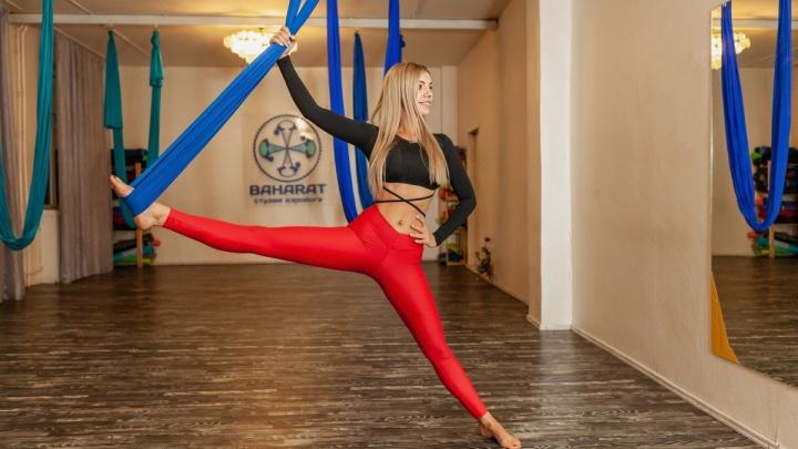Новосибирские девушки массово захотели сесть на шпагат и накачать ноги
