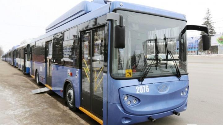 В Уфе из-за ремонта дорог перекроют движение транспорта для троллейбусов