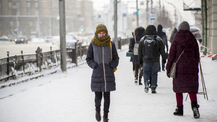 Новосибирцев ждет аномально теплое Рождество: прогноз погоды на 6 и 7 января