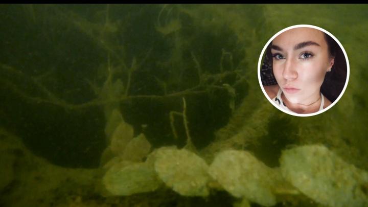 Спасатели опубликовали подводное видео поисков 23-летней Дарьи Головкиной
