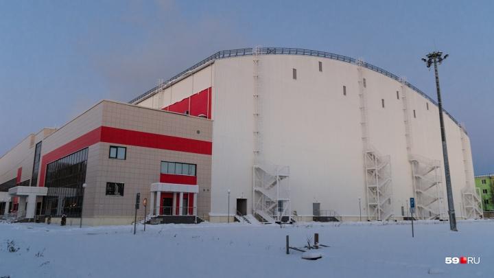 Источник 59.ru: манеж «Пермь Великая» не подлежит эксплуатации, ущерб бюджету 1,2 миллиарда