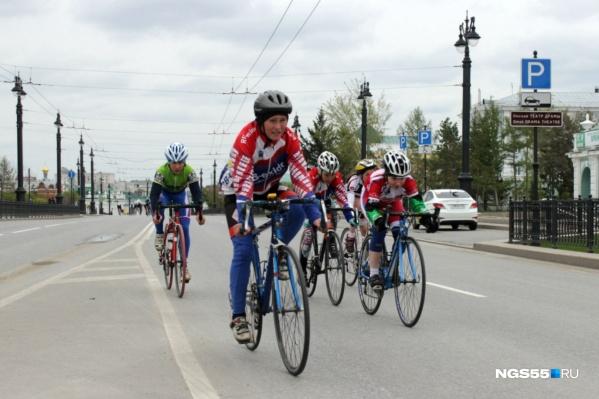 Праздник велосипедистов пройдёт в воскресенье