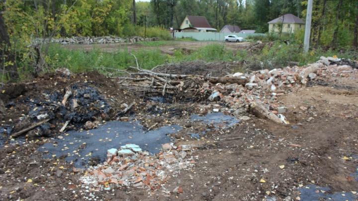 Мэрия Новокуйбышевска и нефтяники придумали, что сделать с зараженной мазутом землей в Гранном