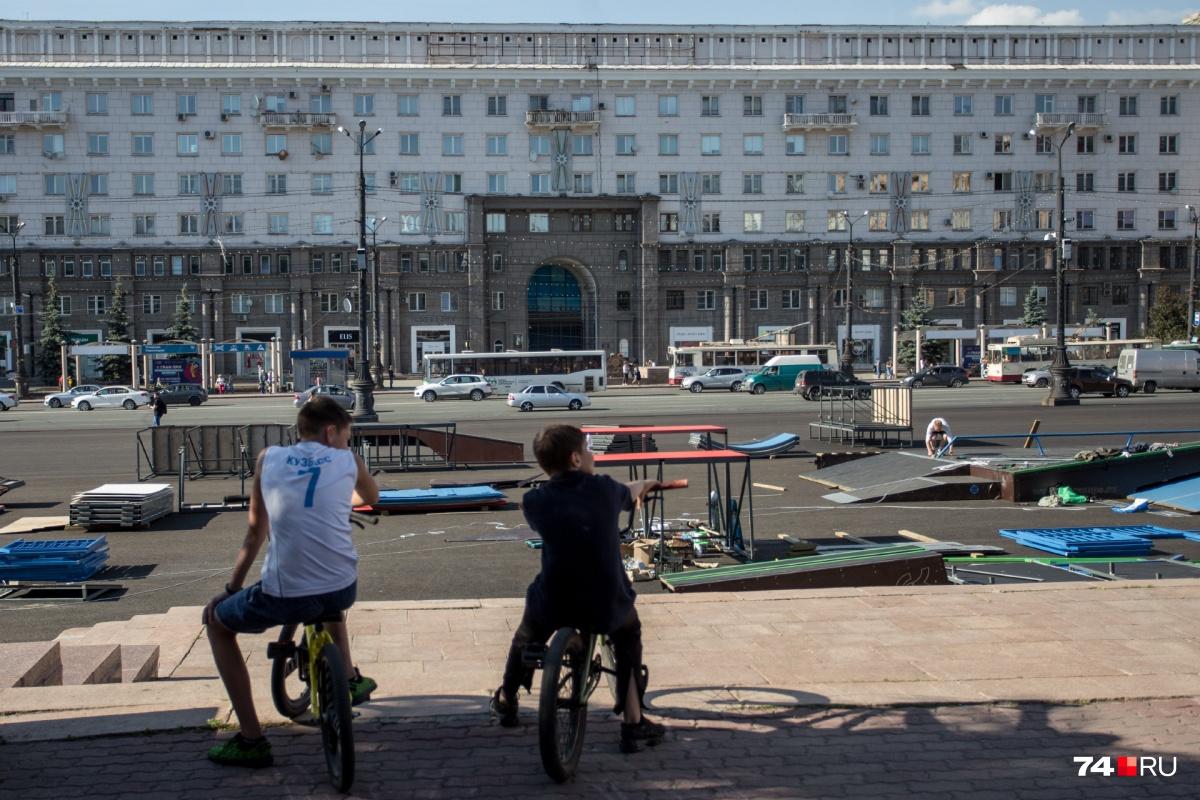 Дом на площади Революции хорошо знаком, пожалуй, каждому челябинцу