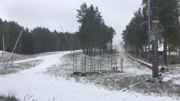 Расчехляйте лыжи! На Уктусе вечером начнут снежить горнолыжный склон