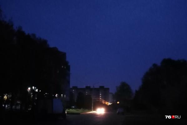 Красноперекопский район вечером 2 октября