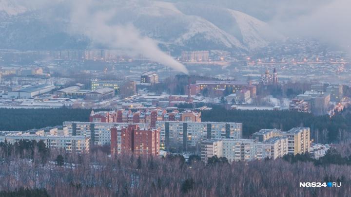 Весеннее тепло приходит в Красноярск