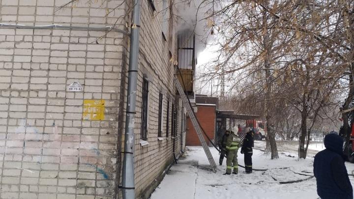 Пожар в многоэтажке на Московском тракте унес жизнь одного из жильцов