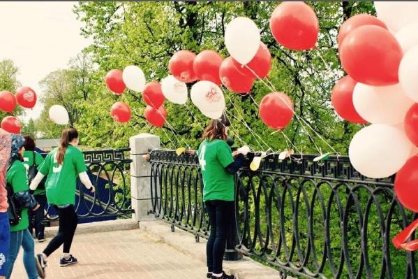 Нижегородцы запустили шары 21 мая. Фото: пресс-служба управления Роспотребнадзора
