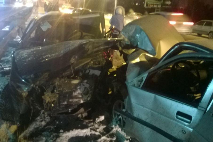 Виновник аварии находился за рулём в нетрезвом виде