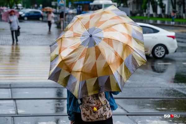Октябрь ожидается пока еще теплым, но перед выходом на улицу прихватить зонтик будет нелишним