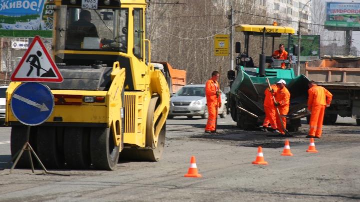 Подлатают первыми: власти Новосибирска назвали дороги для апрельского ремонта