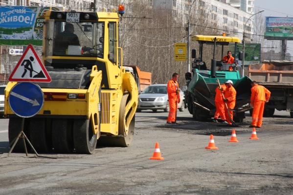 Через две недели в Новосибирске начнут ремонтировать дороги
