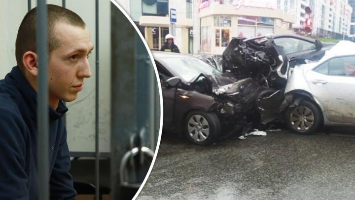«Чувствую себя хорошо»: что говорил в суде виновник ДТП на Малышева Владимир Васильев