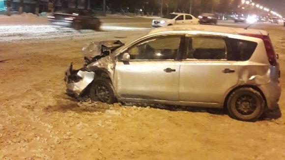 В ДТП на Станиславского попали три машины