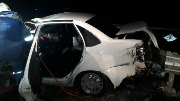 Сегодня ночью в ДТП на трассе «Иртыш» погиб 21-летний водитель