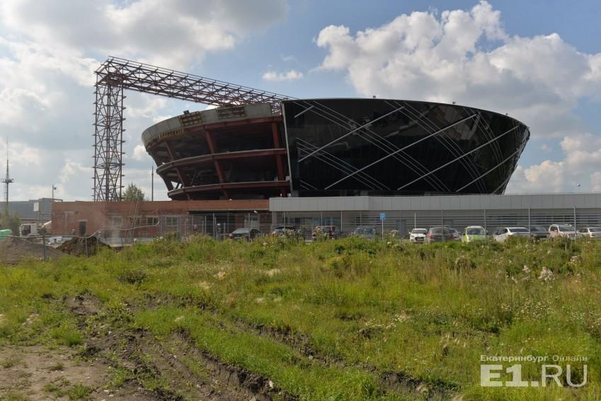 А это строительство того самого авиадиспетчерского центра у Кольцово