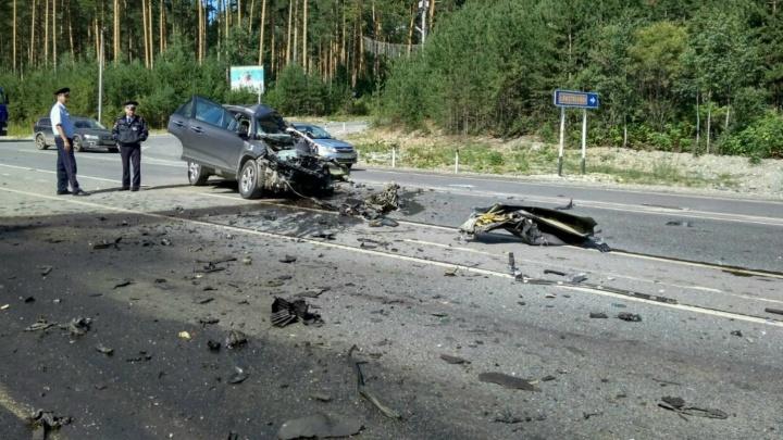 Дорожное видео недели: смертельная авария на ЕКАД и погоня из боевика по Екатеринбургу